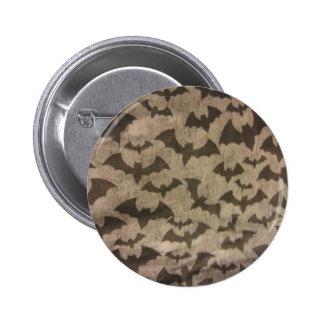 Black Bats Pinback Button