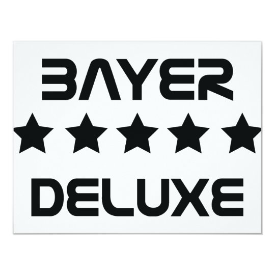 black bayer deluxe icon card
