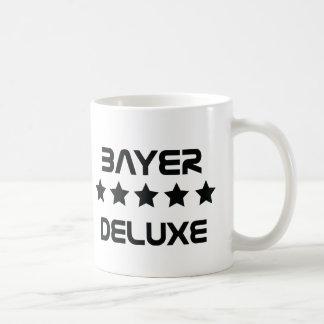 black bayer deluxe icon coffee mug