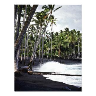 Black Beach - Hawaii Full Color Flyer