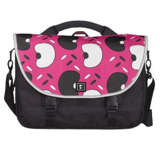 Black Beans Laptop Shoulder Bag