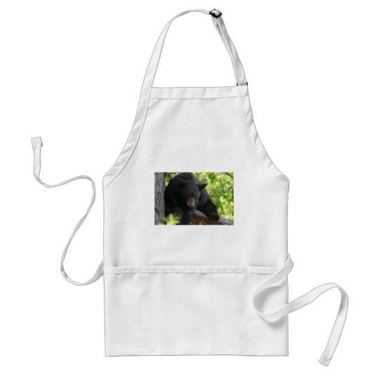 black bear adult apron