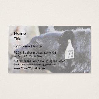 Black Bear Animal Business Card