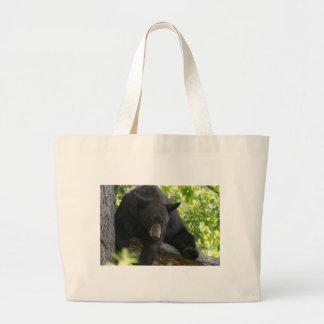 black bear tote bags