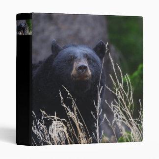 black bear 3 ring binder