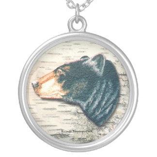 Black Bear Birchbark Necklaces