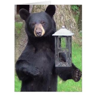 Black Bear Birthday Card