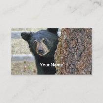 Black Bear Business Cards