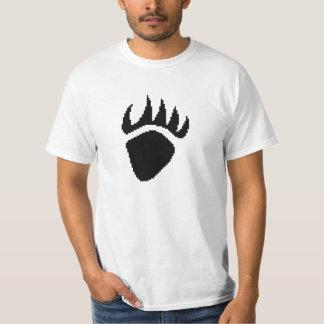 Black Bear Claw Pixel T-Shirt