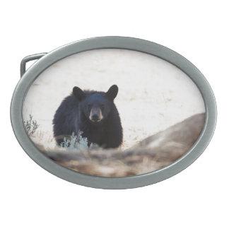 Black Bear Cub Belt Buckle