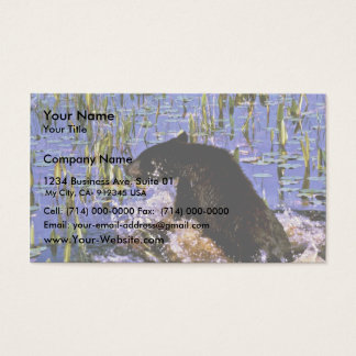 Black Bear Cub Business Card