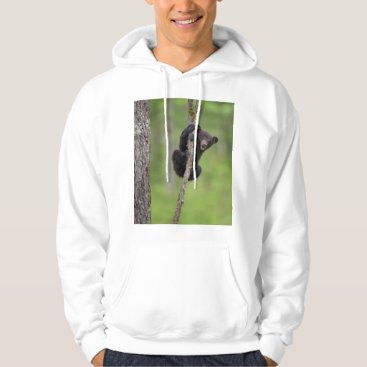 USA Themed Black bear cub playing, Tennessee Hoodie