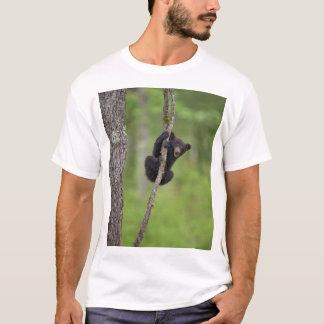 Black bear cub playing, Tennessee T-Shirt