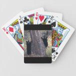 black bear cubs card decks