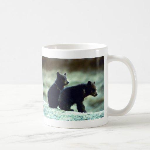 Black Bear cubs Coffee Mug