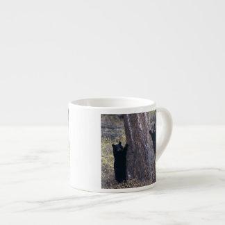 black bear cubs espresso cup