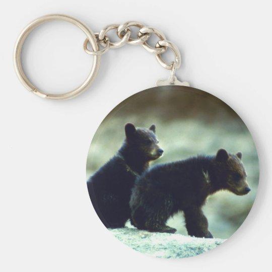 Black Bear cubs Keychain
