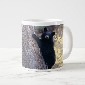 black bear cubs large coffee mug