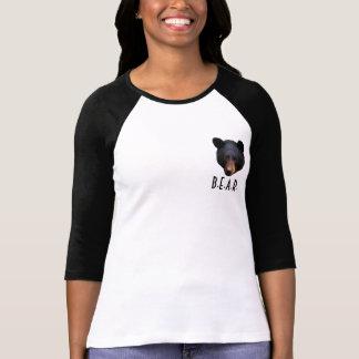 Black Bear Face Wildlife-Supporter Shirt