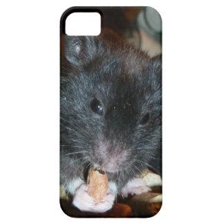 Black Bear Hamster iPhone SE/5/5s Case