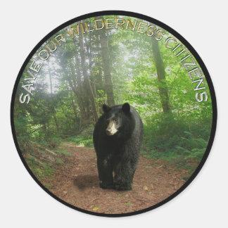 BLACK BEAR II Stickers