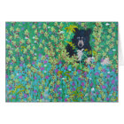 Black Bear in Berry Bush Card