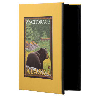 Black Bear in Forest - Anchorage, Alaska Cover For iPad Air