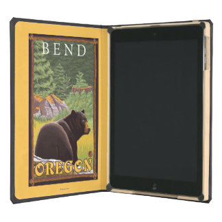 Black Bear in Forest - Bend, Oregon iPad Air Cases