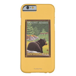 Black Bear in Forest - Mount Adams, Washington Barely There iPhone 6 Case