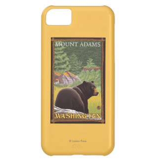 Black Bear in Forest - Mount Adams, Washington Cover For iPhone 5C