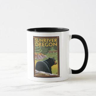 Black Bear in Forest - Sun River, Oregon Mug