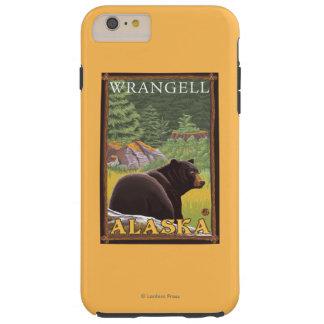 Black Bear in Forest - Wrangell, Alaska Tough iPhone 6 Plus Case