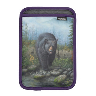 Black Bear iPad Mini Sleeve