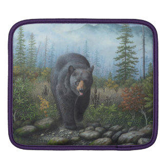 Black Bear iPad Sleeve