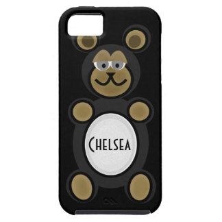 Black Bear iPhone 5 Case