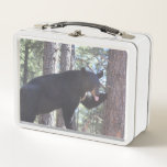 "Black Bear Lunch Box<br><div class=""desc"">A lunch box featuring a photo of a black bear.  If you believe the cost and shipping is too much to pay. Join Zazzle Black at check out to get unlimited free shipping,  huge discounts and great exclusives all year long. A standard membership is $9.99 annually.</div>"