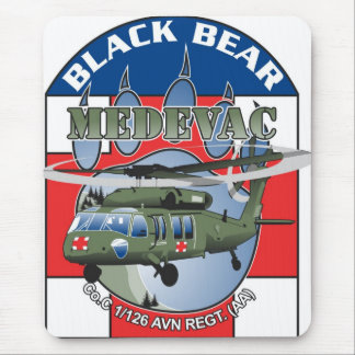 Black Bear Medivac mouse pad