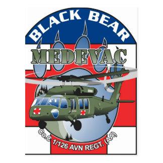 Black Bear Medivac postcard