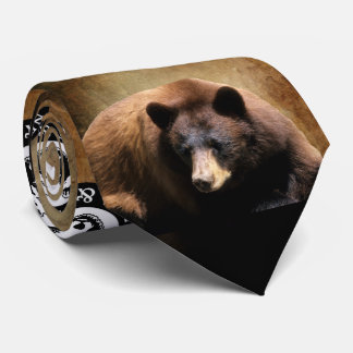 Black Bear Neck Tie