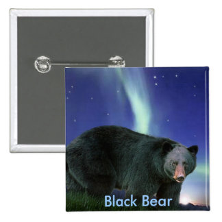 BLACK BEAR Painting Buttons
