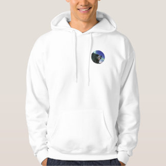 BLACK BEAR Painting Hooded Pullover