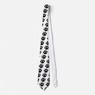Black Bear Print Tie