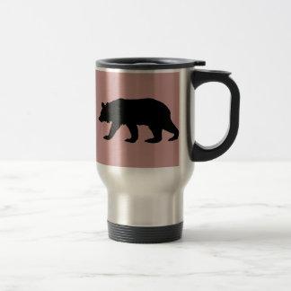 Black Bear Silhouette Coffee Mugs