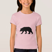 Black Bear Silhouette T-Shirt