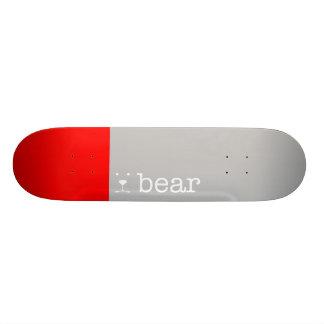 black bear. skateboard deck