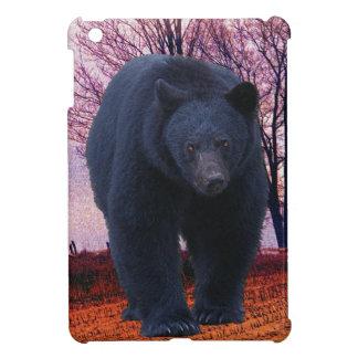 Black Bear Wildlife Design for Animal-lovers iPad Mini Cover