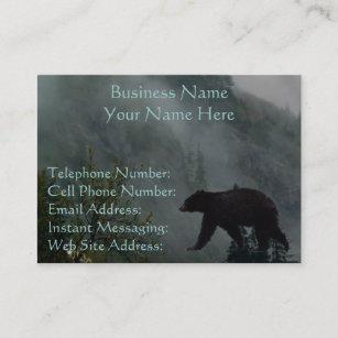 black bear business cards zazzle