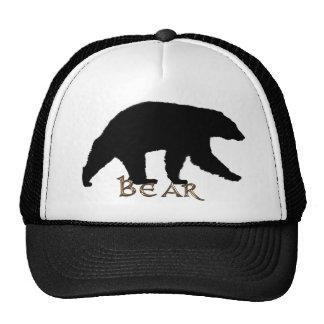 Black Bear Wildlife Supporter Trucker Cap Mesh Hats