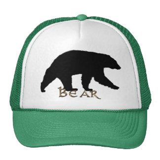 Black Bear Wildlife Supporter Trucker Cap Trucker Hat