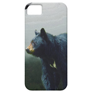 Black Bear Wildlife Theme iPhone SE/5/5s Case